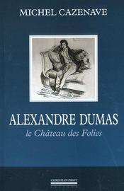 Alexandre dumas - Intérieur - Format classique