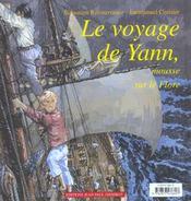 Le voyage de yann, mousse sur le flore - 4ème de couverture - Format classique