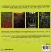 Nouveaux jardins de campagne - 4ème de couverture - Format classique
