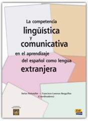 Competencia Linguistica Y Comunicativa - Couverture - Format classique