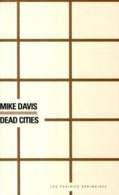 Dead cities - Couverture - Format classique