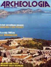 Archeologia n°104 mars 1977 - Couverture - Format classique