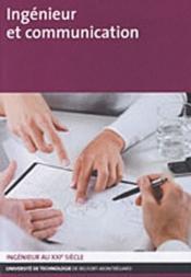 Ingénieur et communication - Couverture - Format classique
