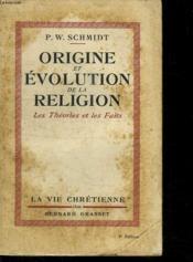 Origine Et Evolution De La Religion. - Couverture - Format classique