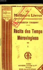 Recits Des Temps Merovingiens - Tome 1 - Couverture - Format classique