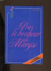 Pour Le Bonheur De Maryse. - Couverture - Format classique