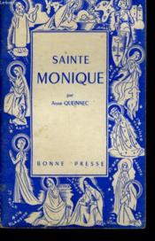 Sainte Monique - Couverture - Format classique