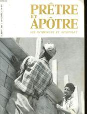 Pretre Et Apotre Vie Interieure Et Apostolat - N°495 - Couverture - Format classique