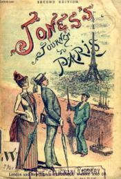 Jones'S Journey To Paris - Couverture - Format classique