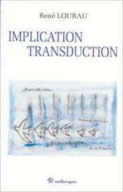 Implication, transduction - Couverture - Format classique