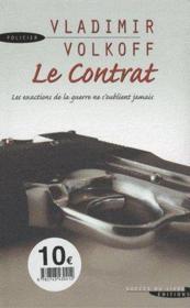 Le contrat - Couverture - Format classique