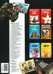 Les aventures de Spirou et Fantasio T.36 ; l'horloger de la comète - 4ème de couverture - Format classique