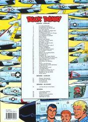 Les aventures de Buck Danny T.50 ; sabotage au Texas - 4ème de couverture - Format classique