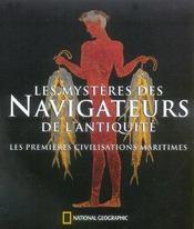 Les mysteres des navigateurs de l'antiquite - Intérieur - Format classique