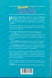 Nouvelle plongée subaquatique ; niveau 1, 2, 3 et 4 - 4ème de couverture - Format classique