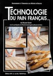 Technologie du pain francais - Couverture - Format classique