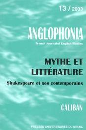 Revue Anglophonia - Intérieur - Format classique