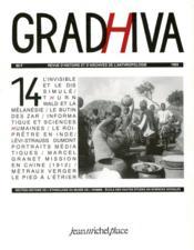 Cahier De Gradhiva N.14 - Couverture - Format classique
