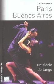 Paris-buenos aires un siecle de tango - Intérieur - Format classique