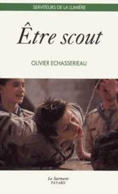 Être scout - Couverture - Format classique