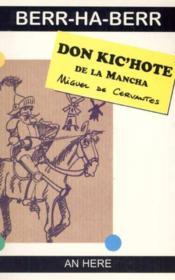 Don kic'hote de la mancha - Couverture - Format classique