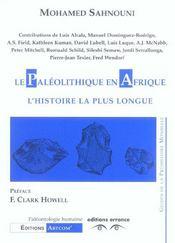 Le Paleolithique En Afrique L'Histoire La Plus Longue - Intérieur - Format classique