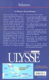 Bahamas 3e edition (3e édition) - 4ème de couverture - Format classique
