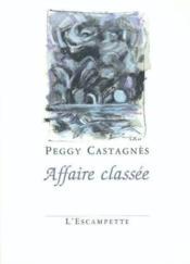 Affaire Classee - Couverture - Format classique