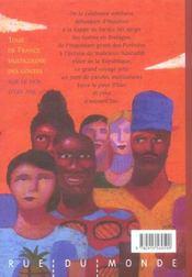 Tour de france multicolore des contes sur le dos d'un âne - 4ème de couverture - Format classique