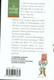Les mange-memoire n142 - bouzouk t1 - 4ème de couverture - Format classique