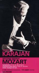 Herbert von Karajan - Symphonies et concertos de Mozart - Coffret 6 CD - Couverture - Format classique