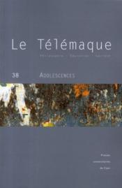 Revue Le Telemaque N.38 ; Adolescences - Couverture - Format classique