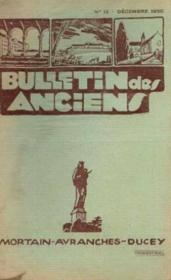 Bulletin des anciens, mortain, avranches ducey, n°12 décembre - Couverture - Format classique