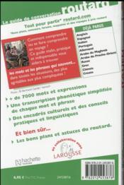 LE GUIDE DE CONVERSATION ROUTARD ; italien - 4ème de couverture - Format classique