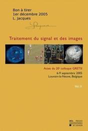 Traitement Du Signal Et Des Images - Couverture - Format classique