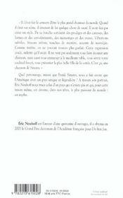 Histoire de frank - 4ème de couverture - Format classique