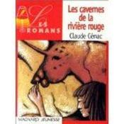 Les Cavernes De La Riviere Rouge - Couverture - Format classique