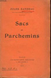 Sacs Et Parchemins. - Couverture - Format classique