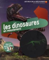Les dinosaures en mouvement - Couverture - Format classique