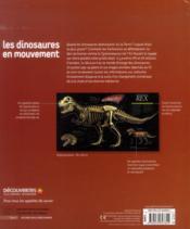 Les dinosaures en mouvement - 4ème de couverture - Format classique