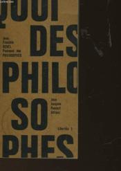 Pourquoi Des Philosophes - Couverture - Format classique