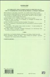 Revue Xviie Siecle N.270 - 4ème de couverture - Format classique