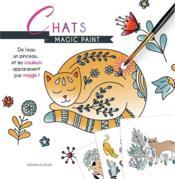 Magic paint ; chats - Couverture - Format classique