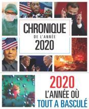 Chronique de l'année 2020 - Couverture - Format classique