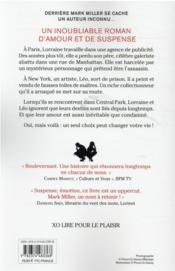 Minuit ! New-York - 4ème de couverture - Format classique