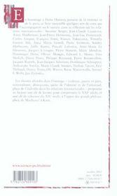 Entre Kant et Kosovo ; études offertes à Pierre Hassner - 4ème de couverture - Format classique