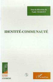 Identite-Communaute - Intérieur - Format classique