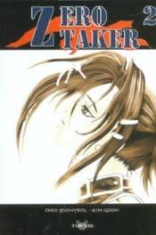Zero Taker T.2 - Couverture - Format classique
