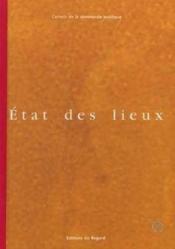 Etat Des Lieux - Couverture - Format classique
