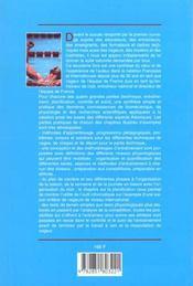 Natation Performance : Methodologie Et Programmes D'Entrainement - 4ème de couverture - Format classique